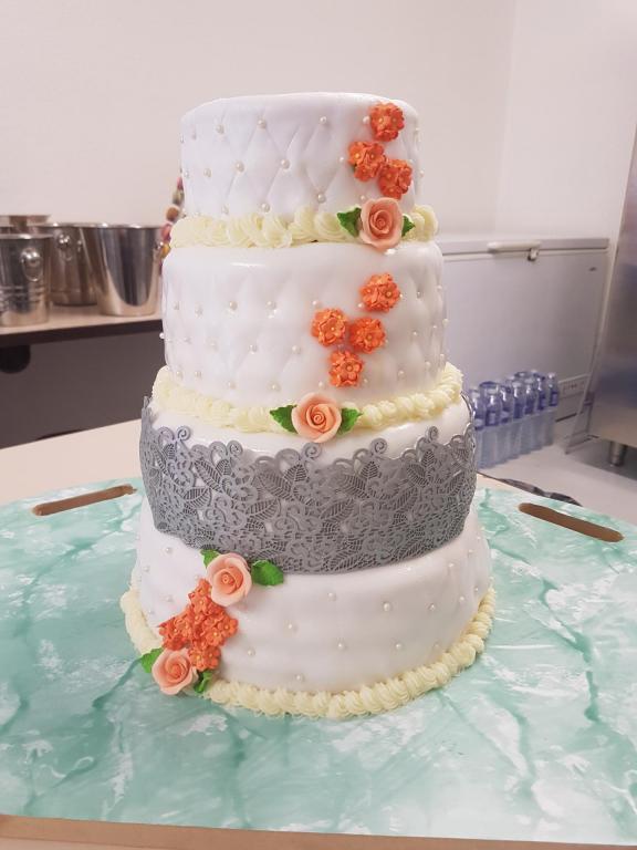 Wedding cake chocolat/fraise