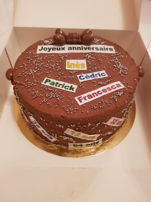 Gâteau schokobons